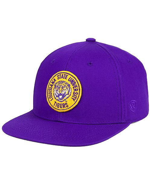 best loved a1c17 e0a83 Top of the World LSU Tigers Timey Snapback Cap ...