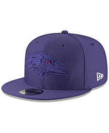 New Era Baltimore Ravens On Field Color Rush 9FIFTY Snapback Cap