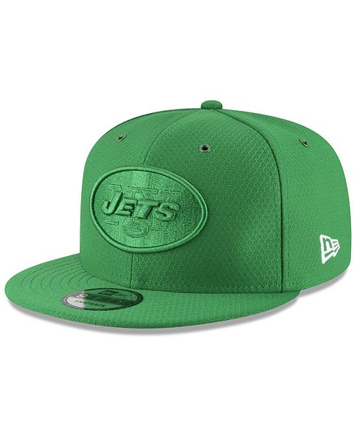 6373418b2 ... New Era New York Jets On Field Color Rush 9FIFTY Snapback Cap ...