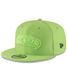New Era Seattle Seahawks On Field Color Rush 9FIFTY Snapback Cap