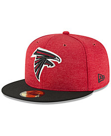New Era Boys' Atlanta Falcons On Field Sideline Home 59FIFTY FITTED Cap