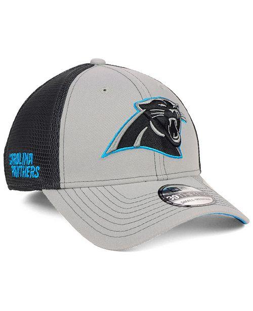 New Era Carolina Panthers 2-Tone Sided 39THIRTY Cap - Sports Fan ... ba72a7e78