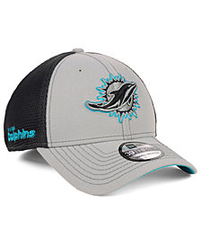 New Era Miami Dolphins 2-Tone Sided 39THIRTY Cap