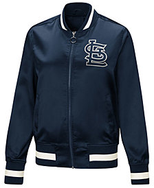 Touch by Alyssa Milano Women's St. Louis Cardinals Touch Satin Bomber Jacket