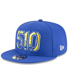 New Era Golden State Warriors Area Code 9FIFTY Snapback Cap