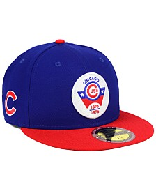 new arrival 47add 6fd17 New Era Chicago Cubs Ultimate Patch Collection Front 59FIFTY FITTED Cap