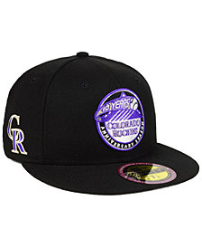 New Era Colorado Rockies Ultimate Patch Collection Front 59FIFTY FITTED Cap