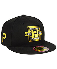 New Era Pittsburgh Pirates Ultimate Patch Collection Front 59FIFTY FITTED Cap
