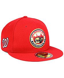 New Era Washington Nationals Ultimate Patch Collection Front 59FIFTY FITTED Cap