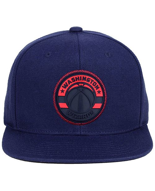 cheaper 5a014 7f94c ... get mitchell ness. washington wizards zig zag snapback cap. be the  first to write