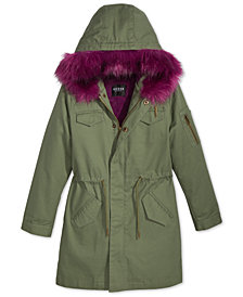 9/3 GUESS Big Girls Damson Parka