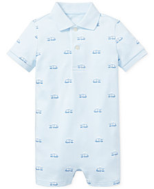 Ralph Lauren Baby Boys Polo Cotton Shortall