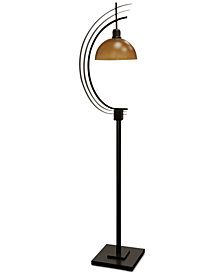 StyleCraft Amber Floor Lamp