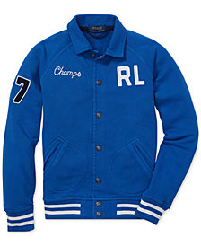 Polo Ralph Lauren Big Boys Cotton French Terry Jacket
