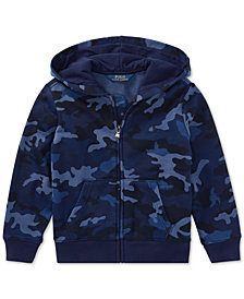 Polo Ralph Lauren Little Boys Camouflage Hoodie