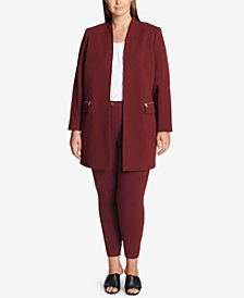 Calvin Klein Plus Size Topper Jacket & Ankle Pants