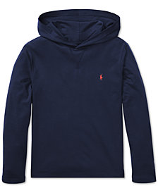 Polo Ralph Lauren Big Boys Cotton Hooded Long-Sleeve T-Shirt