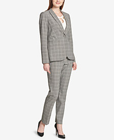 Tommy Hilfiger Plaid Blazer & Pants