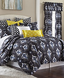 Blue Falls Comforter Set-King