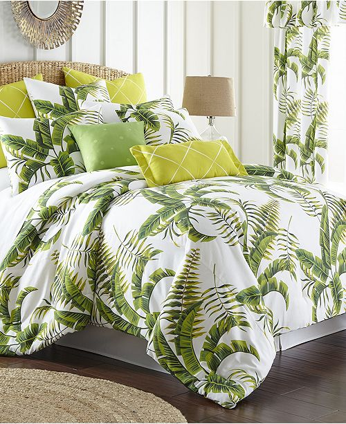 Colcha Linens Tropic Bay Duvet Cover Set-Twin