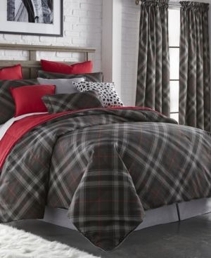 Max Plaid Duvet Cover Set Twin Bedding