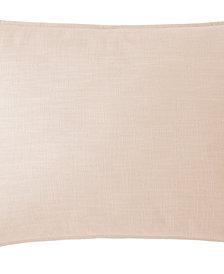 Cambric Peach Pillow Sham Standard/Queen