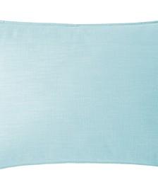 Cambric Aqua Pillow Sham-King
