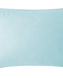 Cambric Aqua Pillow Sham Standard/Queen
