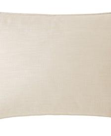 Cambric Vanilla Pillow Sham-Queen