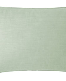 Cambric Seafoam Pillow Sham Standard/Queen