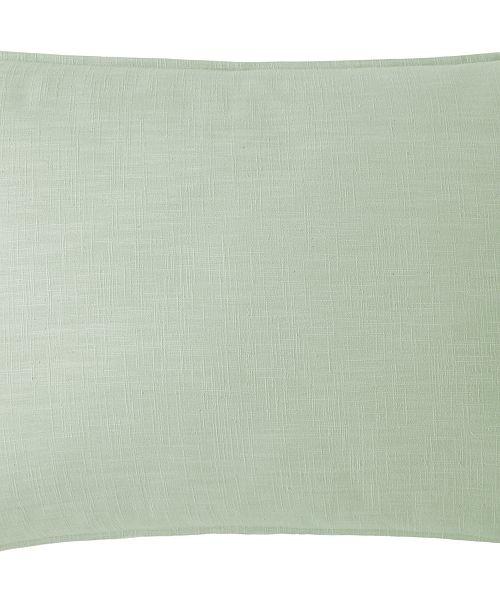 Colcha Linens Cambric Seafoam Pillow Sham-King