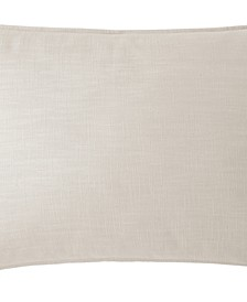 Cambric Natural Pillow Sham-King