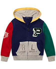 Polo Ralph Lauren Little Boys Colorblocked Cotton Hoodie