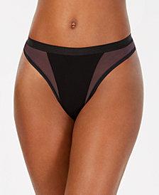 Cosabella Mixed-Mesh High-Leg Thong MIXMS0361