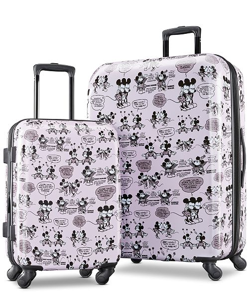 Minnie & Mickey Mouse 21 Carry-On Spinner