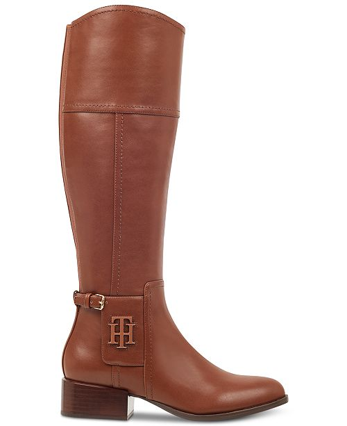 18778ab71f22fc Tommy Hilfiger Merritt Riding Boots   Reviews - Boots - Shoes - Macy s