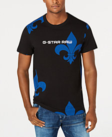 G-Star RAW Men's Fleur-De-Lis T-Shirt, Created for Macy's