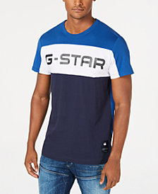 G-Star RAW Men's Colorblocked Logo T-Shirt, Created for Macy's