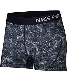 Nike Pro Printed Shorts