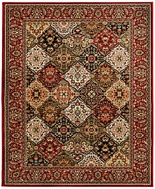 "KM Home Sanford Panel Multi 7'10"" x 10'10"" Area Rug, Created for Macy's"