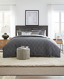 Tommy Hilfiger Diamond Explorer 3-Pc. Full/Queen Duvet Cover Set