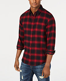 American Rag Men's Wes Plaid Shirt, Created for Macy's