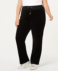 ec10a6c5246 Alfani Plus Size Printed Wide-Leg Knit Pants
