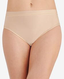 Light and Luxurious Hi-Cut Underwear 13195, also available in extended sizes