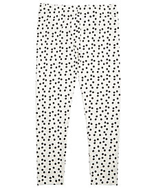 Epic Threads Little Girls Dot-Print Leggings, Created for Macy's