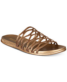 Kenneth Cole Reaction Women's Slim Slide Flat Sandals