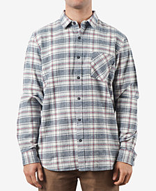 Rip Curl Men's Flannel Striped Shirt