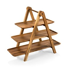 Toscana™ by Picnic Time Serving Ladder 3 Tiered Serving Station