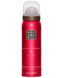 Receive a FREE The Ritual Of Ayurveda Foaming Shower Gel with any $25 RITUALS purchase