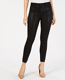 Articles of Society Heather High-Rise Coated Cropped Skinny Jeans